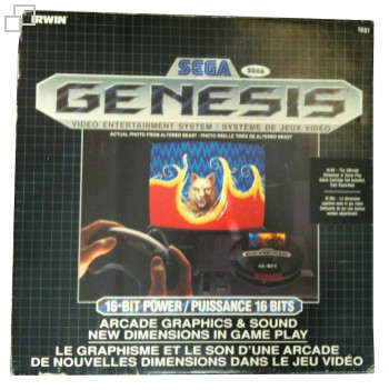 NTSC-CD SEGA Genesis Irwin Electronics Box