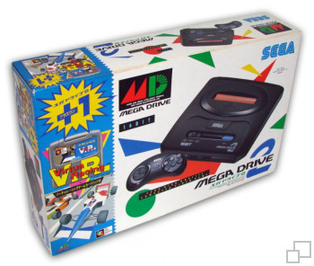 NTSC-JP SEGA Mega Drive 2 Virtua Racing Box