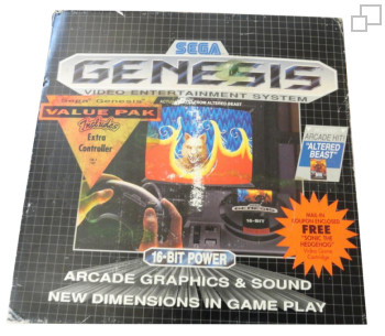 NTSC-US SEGA Genesis Altered Beast Value Pack Box