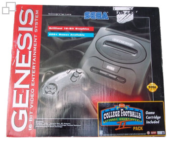NTSC-US SEGA Genesis 2 College Football´s National Championship II Box