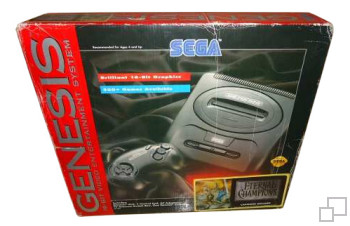 NTSC-US SEGA Genesis 2 Eternal Champions Box