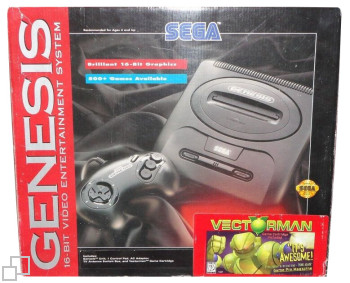NTSC-US SEGA Genesis 2 Vectorman Box
