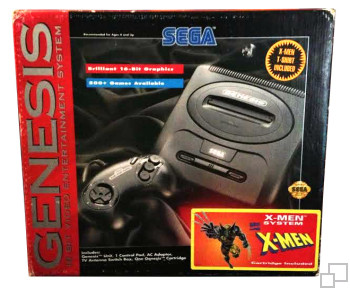 NTSC-US SEGA Genesis 2 X-Men System Box
