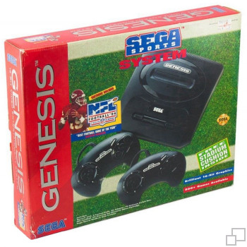 NTSC-US SEGA Genesis 2 SEGA Sports System Box