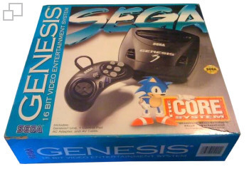 NTSC-US Majesco Genesis 3 Box