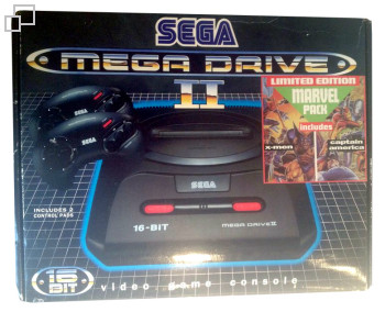 PAL/SECAM Mega Drive 2 Marvel Pack Box