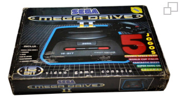 PAL/SECAM SEGA Mega Drive 2 Five Jogos 2 Box (Portugal)