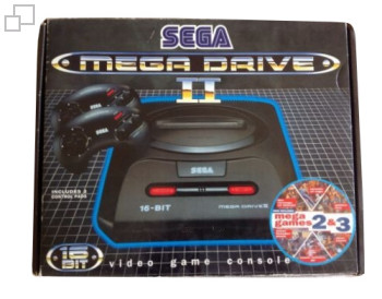 PAL/SECAM Mega Drive 2 MegaGames II and III Box