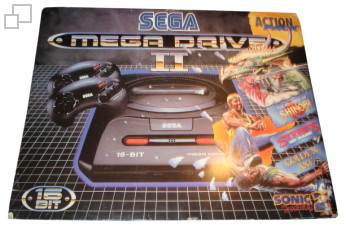 PAL/SECAM Mega Drive 2 Action Pack Box