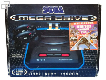 PAL/SECAM SEGA Mega Drive 2 Special Limited Edition Pack Box