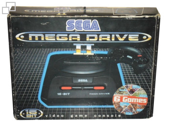 PAL/SECAM Mega Drive 2 MegaGames VI Box (UK)