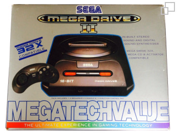 PAL/SECAM SEGA Mega Drive 2 Mega Tech Value Box (Australia)