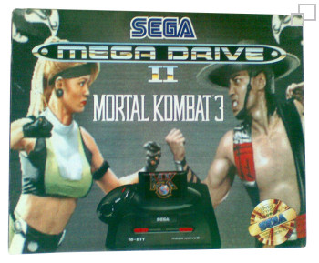 PAL/SECAM SEGA Mega Drive 2 Mortal Kombat 3 Box (Greece)