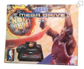 PAL/SECAM SEGA Mega Drive 2 NBA Jam Tournament Edition Box (Greece)
