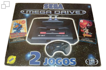 PAL/SECAM SEGA Mega Drive 2 Two Jogos Box (Portugal)