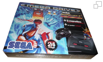 PAL/SECAM SEGA Mega Drive 2 Street Fighter 2 Dash Special Champion Edition Box (France)