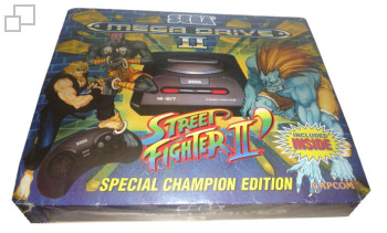 PAL/SECAM Mega Drive 2 Street Fighter 2 Dash Special Champion Edition Box (Australia)