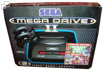 PAL/SECAM SEGA Mega Drive 2 Wild and Wet 2 Box