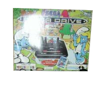 PAL/SECAM SEGA Mega Drive 2 The Smurfs Box
