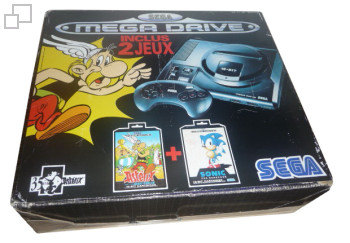 PAL/SECAM SEGA Mega Drive Asterix and the Great Rescue / Sonic Box (France)
