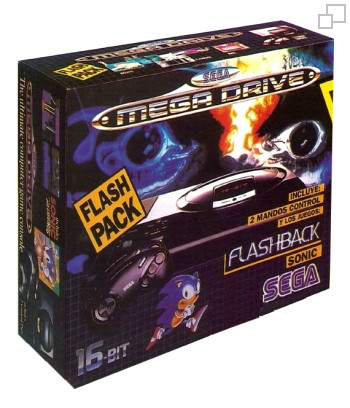 PAL/SECAM SEGA Mega Drive Flashback / Sonic Box (Spain)