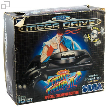 PAL/SECAM SEGA Mega Drive Street Fighter 2 (Dash) Special Champion Edition Box