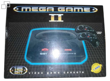 PAL/SECAM Ecofilmes Mega Game II Box (Portugal)