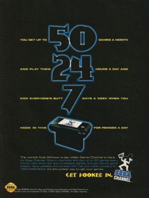SEGA Channel Advertisement