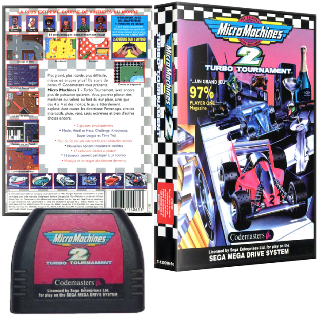PAL/SECAM Codemasters Cover