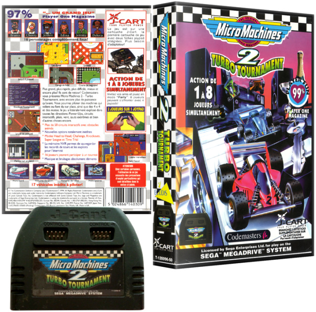 PAL/SECAM Codemasters JCart Cover